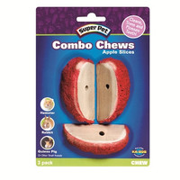 Super Pet Combo Chew Apple Slices - 3 Pack
