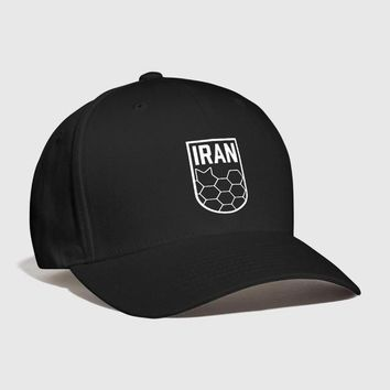 Sports Hat Cap trendy  Geometric Iran Soccer Badge Embroidered Handmade Football team melli persian Soccer Sports Outdoors 2018  Curved Dad hat KO_16_1