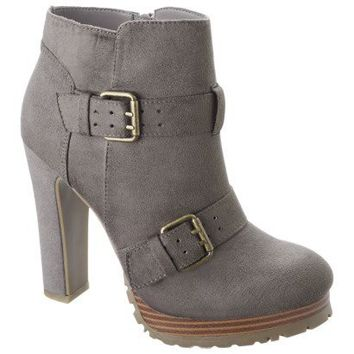 Women's Mossimo® Keisa Heeled Ankle Boot - Assorted Colors