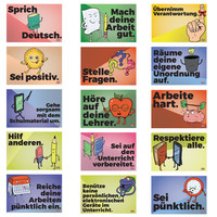 Common Sense Rules German Mini-Poster Set