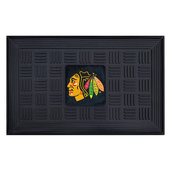 Chicago Blackhawks NHL Vinyl Doormat (19x30)
