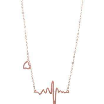 Butter Jewelry Heartbeat Necklace