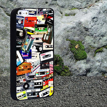 Casatte bag Case for iPhone 4/4s,iPhone 5/5s/5c,Samsung Galaxy S3/s4 plastic & Rubber case, iPhone Cover