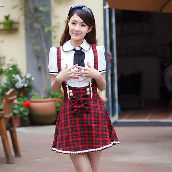 2018 summer japan and south korea sailor suit costumes anime cos japan academic school female student uniforms japanese school