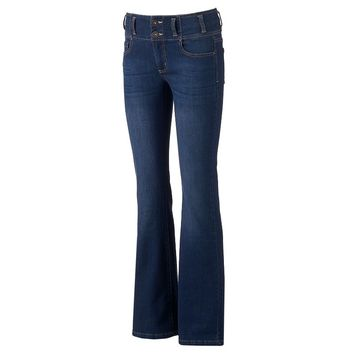 Tinseltown Double Stack Juniors' Flare Jeans, Size: