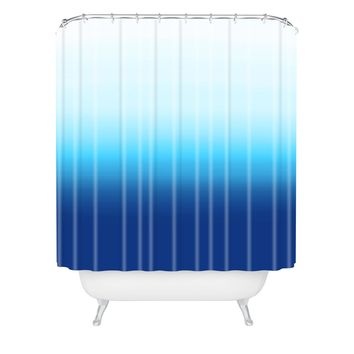 Natalie Baca Under The Sea Ombre Shower Curtain