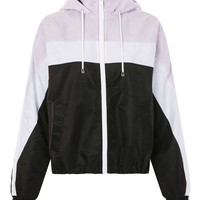 Lilac Windbreaker Jacket - Jackets & Coats - Clothing