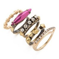 Iosselliani Fused Stone Stacking Ring Set | SHOPBOP Save 20% with Code WEAREFAMILY13