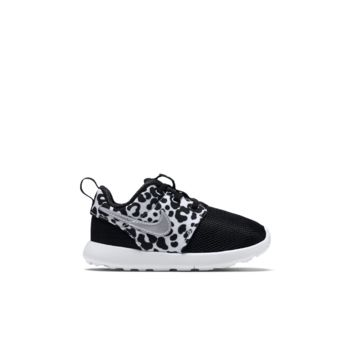 Women S Metallic Cheetah Print Roshe Runs