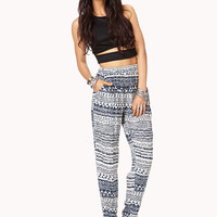 High-Waisted Boho Harem Pants