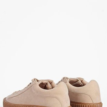 Leila Cleated Sole Lace Up Trainer