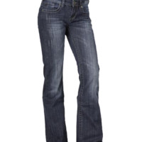 "Stetson 816 Fit Classic Bootcut Jean with ""S"" Pocket"