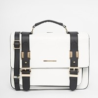 River Island | River Island Mono Satchel at ASOS