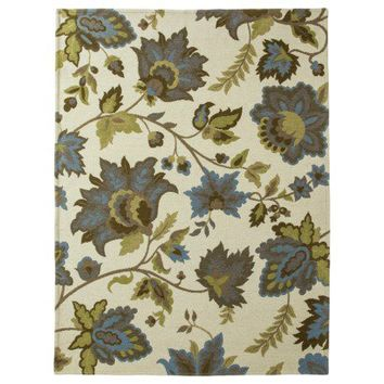 Threshold™ Cabana Floral Area Rug - Cream