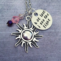 And At Last I See The Light V4 Necklace - Fairytale Jewelry - Once Upon A Time Jewelry - Princess Jewelry -Rapunzel Jewelry