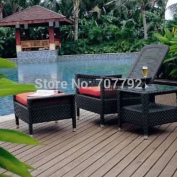 2017 leisure ways patio furniture double outdoor wicker daybed