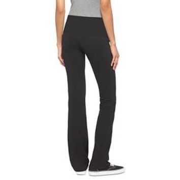 Women's Yoga Bootcut Foldover Waistband - Mossimo Supply Co.™ (Juniors')