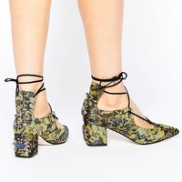 ASOS SALOON Embellished Heels at asos.com