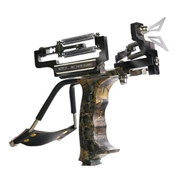 Judge Slingshot Generation 3 Spring Catapult Camouflage Stainless Steel Aluminium Alloy Sling Shot with Arrow Rest
