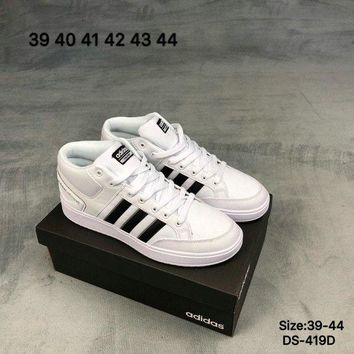 DCCK9ME Adidas CF ALL COURT MID Men and Women Fashion Sports Outdoor Skate Shoes