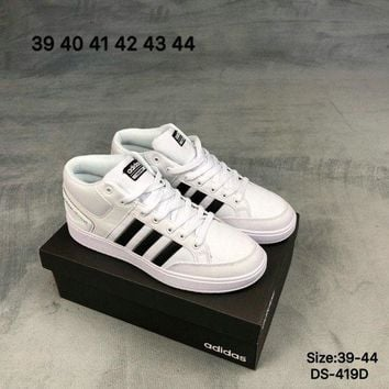 LMFHX7 Adidas CF ALL COURT MID Men and Women Fashion Sports Outdoor Skate Shoes