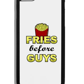 Fries Before Guys Black Dauphin iPhone 6 Plus Cover by TooLoud