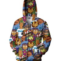 Rocket Power Zip-Up Hoodie
