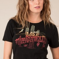 Lost Highway Tee by Icons of Culture