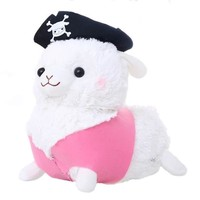 Lovely Pirate Alpaca Plush Toy