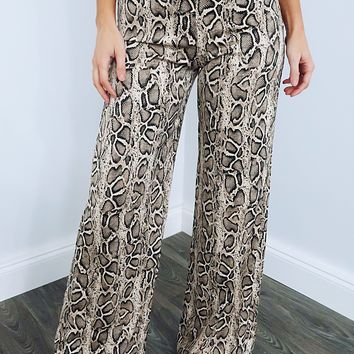 Snake Bite Pants: Multi