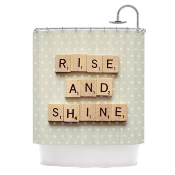 "Cristina Mitchell ""Rise and Shine"" Shower Curtain"