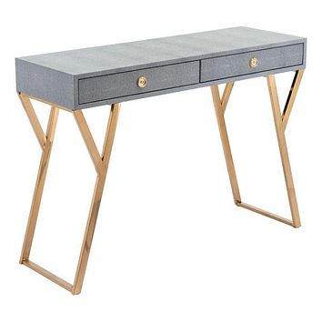 A11141 Asti Console Table Gray