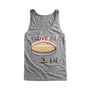 I Love Pi Tank Top | 3.14 Pi Day Tanktop