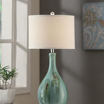 "Crestview Sea Scape Table Lamp 30""Ht - CVAP1616"