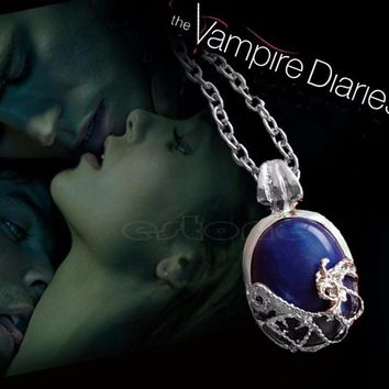 The Vampire Diaries Katherine Necklace ,Natural Stone necklaces & pendants Chain,Clavicle Chain Necklace C256