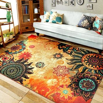 Fashion Non-slip Shaggy Fluffy Area Rug Floor Mat Living Room Carpet Home Decoration Bedroom Accessories ZIZI