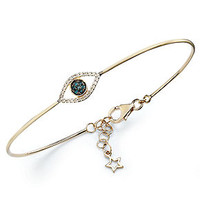 YellOra™ Diamond Bracelet, YellOra™ Diamond Accent Evil Eye Wire Bracelet