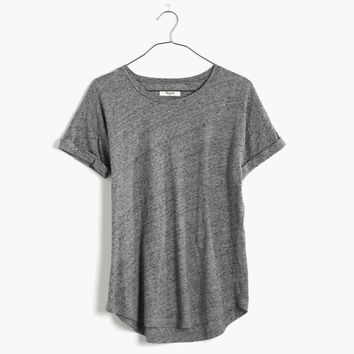 Whisper Cotton Crewneck Tee : shopmadewell 40% off select sale styles | Madewell