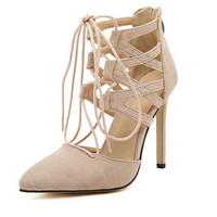 Women Sexy Pointed Toe High Heel Pumps