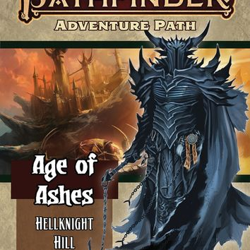 Pathfinder Rpg: Adventure Path - Age Of Ashes Part 1 - Hellknight Hill (p2)