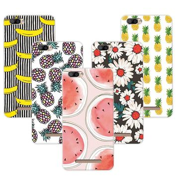 """Fruit Art Painted Banana Minions Phone Case Capa For Doogee X20 Cases Cover Fundas For Doogee X20L  5.0"""" Coque +Free Gift Pen"""