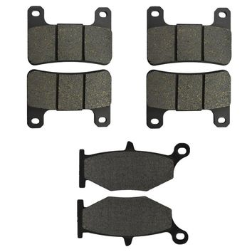 Motorcycle Parts Front & Rear Brake Pads Discs Kit for SUZUKI GSXR600 GSXR750 K6-K9/L0 06-10 GSXR1000 K7/K8 07-08 GSX1300R 08-13