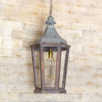 Lantern Pendant Light, Medium