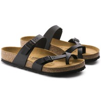 Newest Hot Sale Mayari Birkenstock 805 Summer Fashion Leather Beach Lovers Slippers Casual Sandals For Women Men Couples Slippers color Black size 34-45