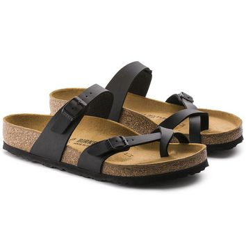 c60465e14e88 Newest Hot Sale Mayari Birkenstock 805 Summer Fashion Leather Beach Lovers  Slippers Casual Sandals For Women