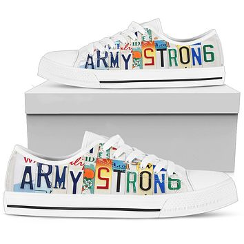 Army Strong Low Top ladies Shoes