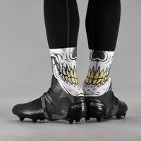 Skull Mask Spats / Cleat Covers