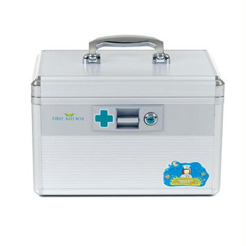 Trademark Home Aluminum Medical Travel First Aid Case