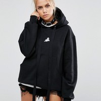 Adolescent Clothing Halloween Ghost Oversized Hoodie at asos.com