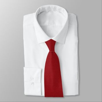 Red Damask Neck Tie